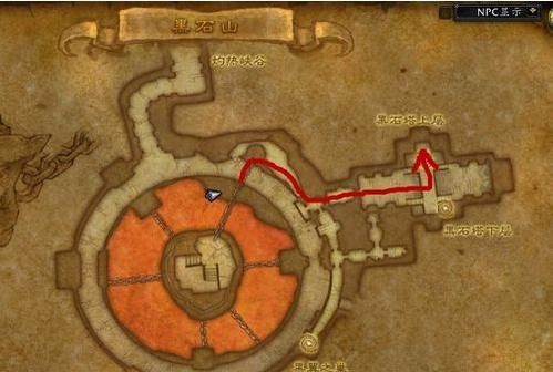 魔兽世界黑石塔上层入口在哪?